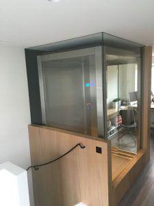 Glazen lift
